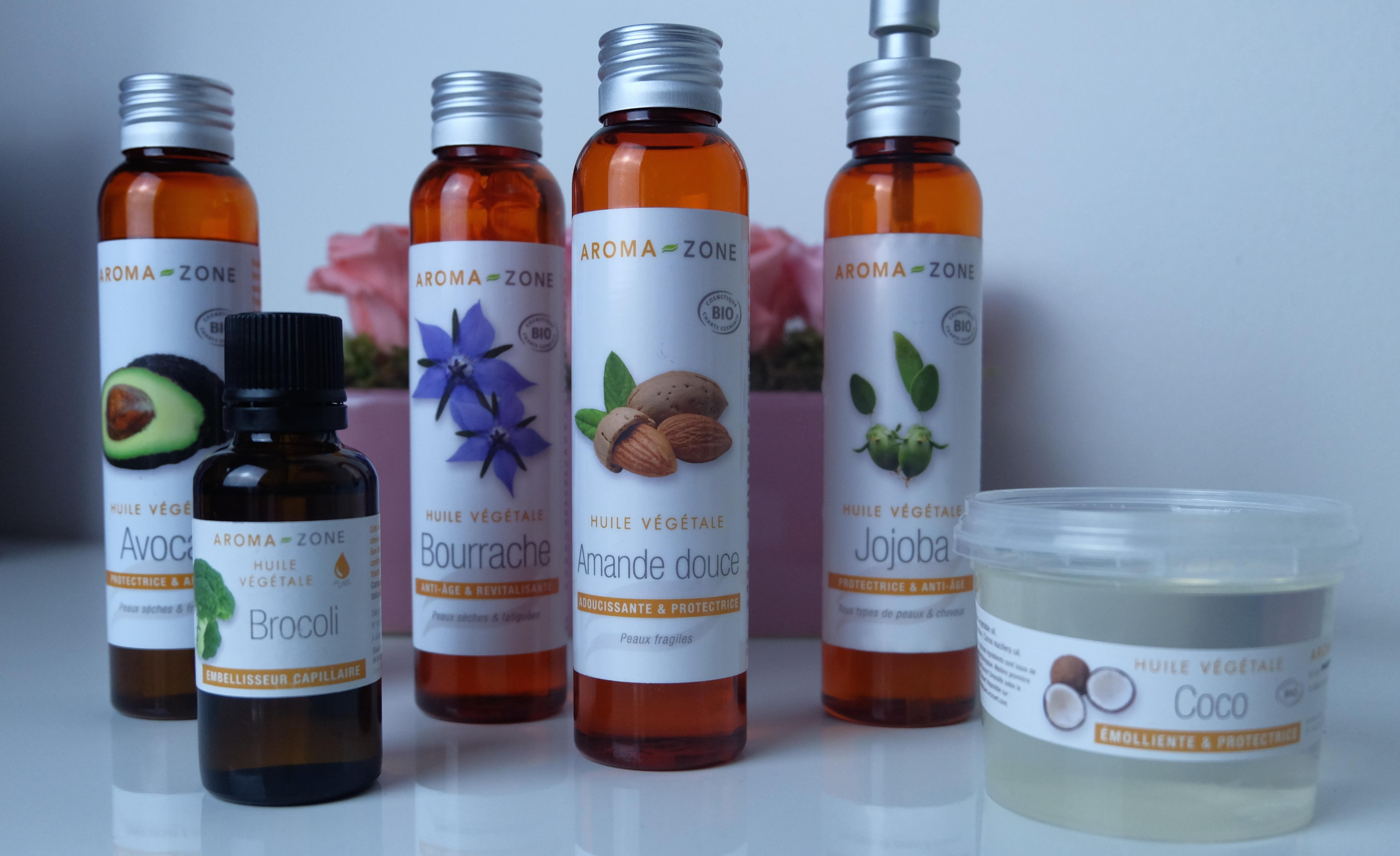huile vegetale aroma zone avis