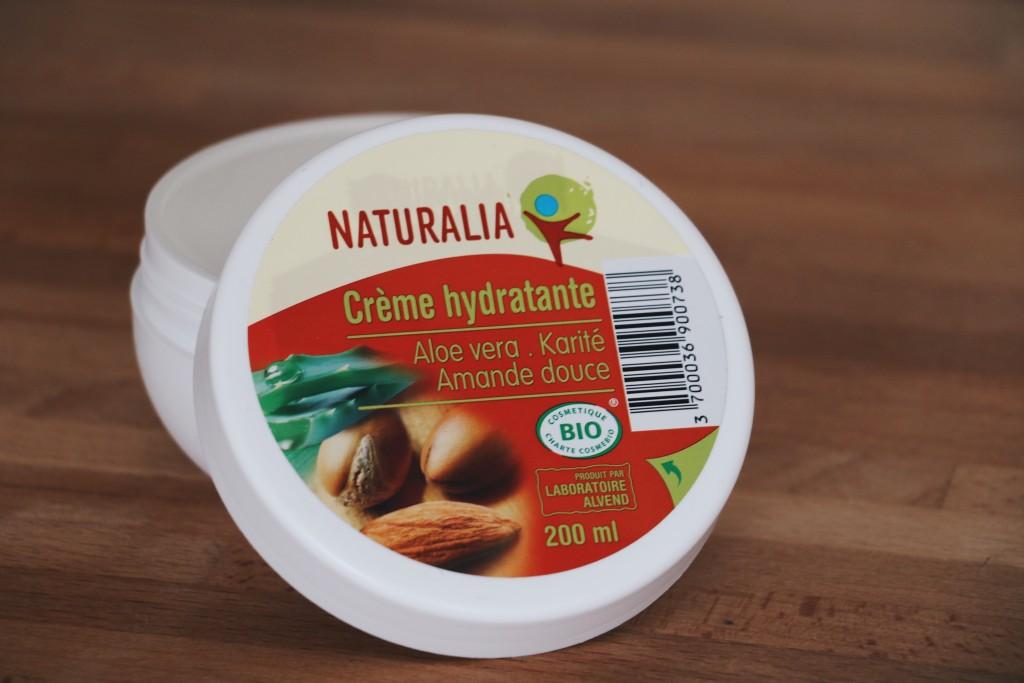 creme hydratante naturalia