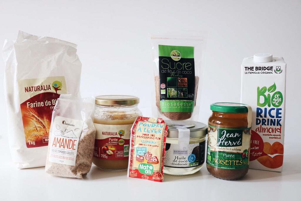 recette financier vegan