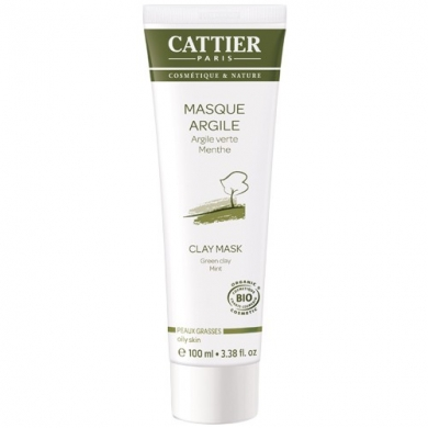 Masque a l'argile verte Cattier